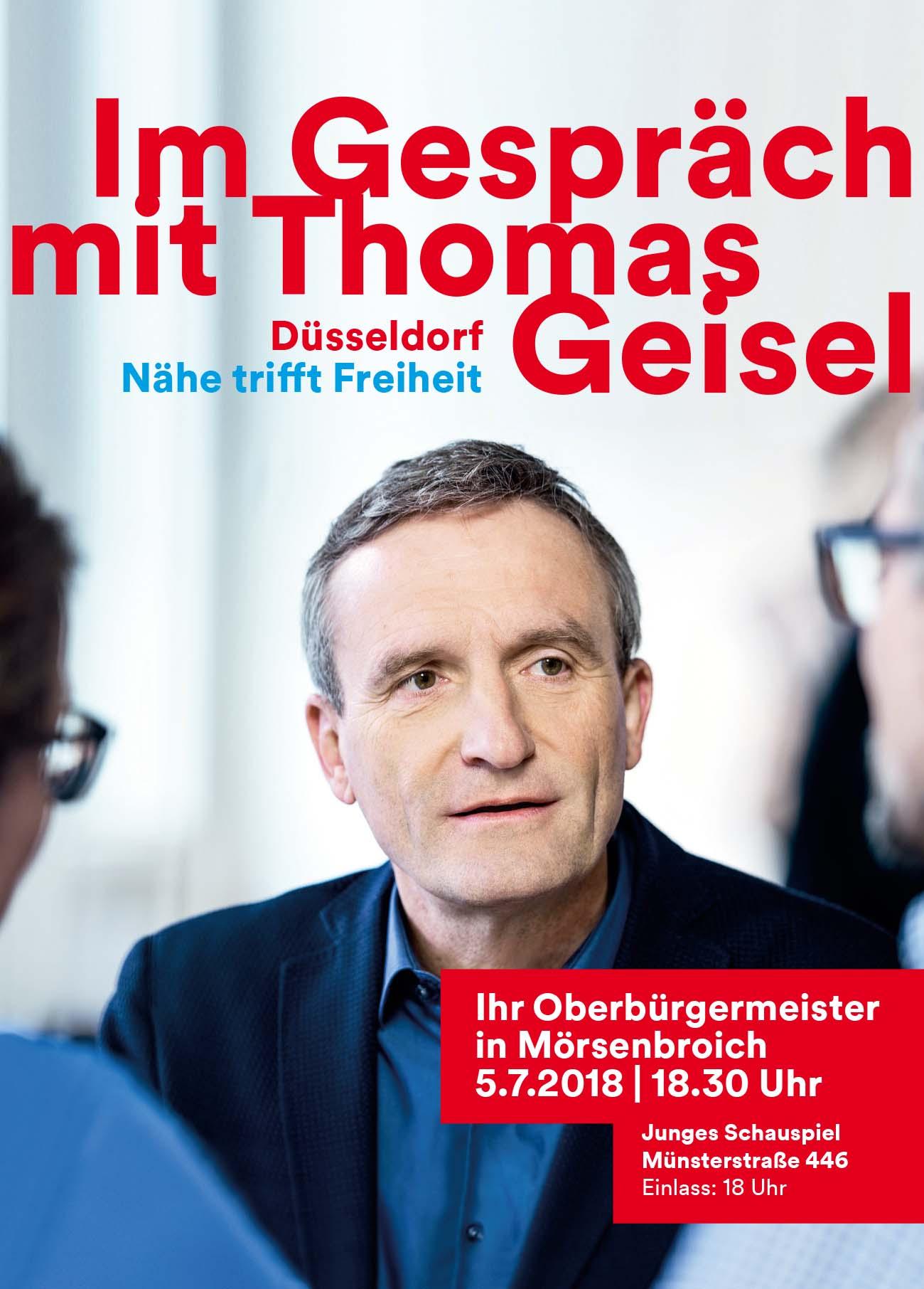 Im Gespräch mit Thomas Geisel