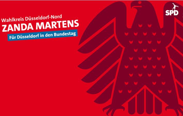 Bundestagswahl Wahlkreis Düsseldorf-Nord Zanda Martens